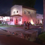 An early morning fire damages an unoccupied building in Springfield