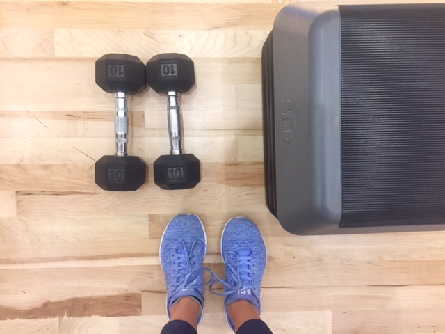 Basic hotel gym equipment can go a long way when properly put to work (Amanda Shapin)