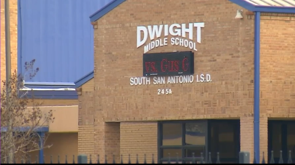 School district looks into alleged sexual harassment at middle school. by  SBG San Antonio
