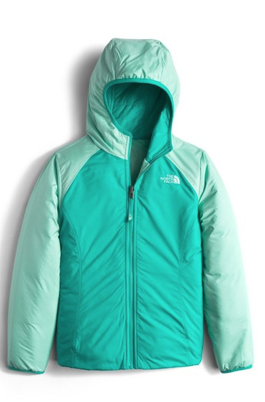The North Face 'Perseus' Water Repellent Heatseeker™ Insulated Hooded Reversible Jacket ($69.30). Find on nordstrom.com. (Image courtesy of Nordstrom)