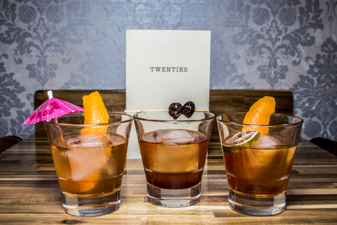 The Old Fashioned Line Up: Mexcal, Irish, and Rum / Image: Catherine Viox{ }// Published: 3.3.20