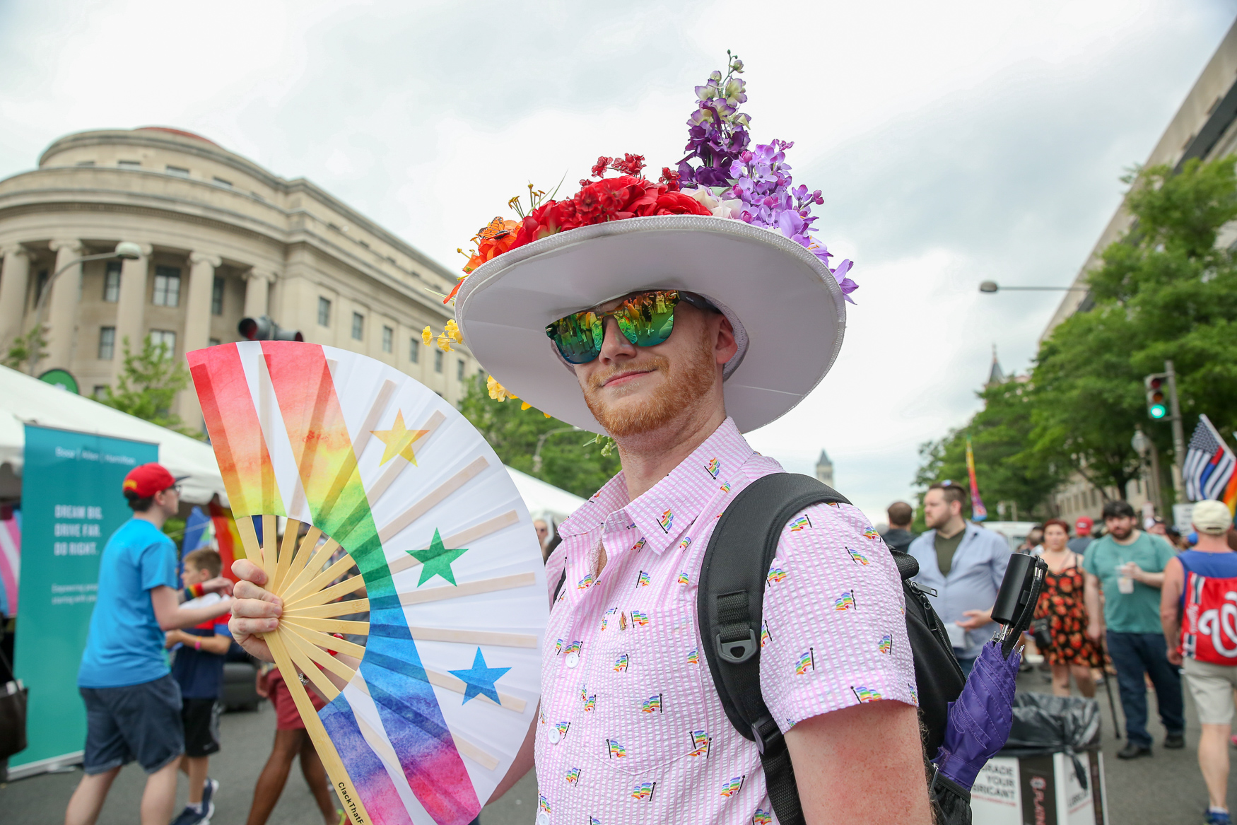 From a rooftop rally to a sunset dance party, here's everything going on throughout the duration of Pride weekend! (Image: Amanda Andrade-Rhoades/ DC Refined)