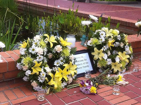 Memorial in Auburn 6-13-12