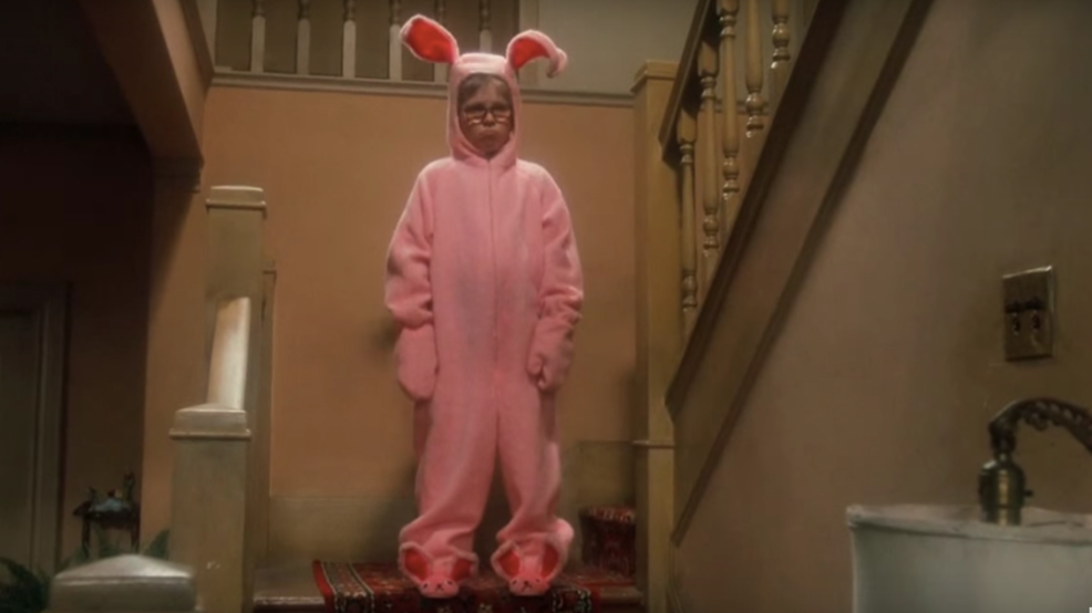 photographer defends a christmas story themed picture of baby with gun - When Was The Christmas Story Made
