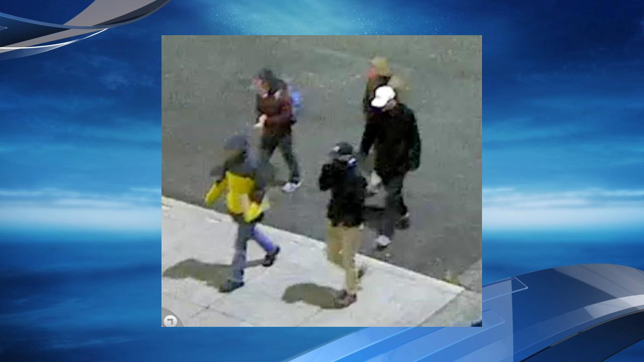 A surveillance camera caught this image of the suspects. (Photo: PCC)