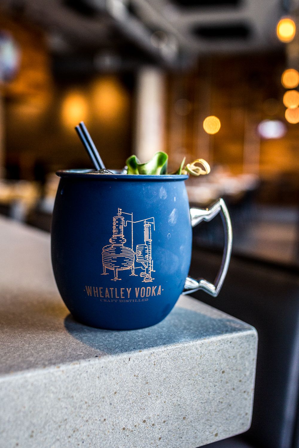 Cucumber Mule: Stoli cucumber vodka, ginger beer, fresh lime juice, and cucumber / Image: Catherine Viox // Published: 10.10.19