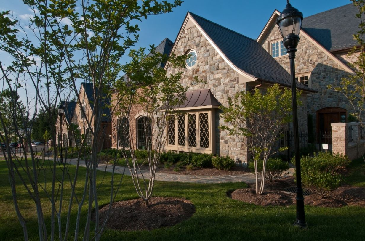 The Cathedral View Townhomes, overlooking Washington Golf and Country Club, offers the convenience of being situated just minutes from downtown D.C., has countless green energy-efficient features and breathtaking views of the National Cathedral. The 7,000-square-foot floor plan is styled in old world charm architecture from the gourmet kitchen to the bedroom suites. (Image: Courtesy J.L. Albrittain, Inc. )