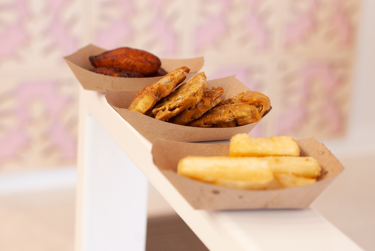 Yuca Frita, Breadfruit Tostones, and Sweet Plantains{ }/ Image: Kellie Coleman // Published: 3.6.21
