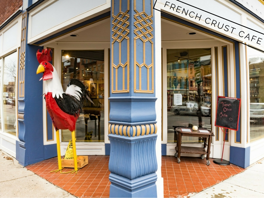 French Crust Cafe is located at 1801 Elm St. Cincinnati, OH 45202. / Image: Phil Armstrong, Cincinnati Refined / Published: 1.29.17