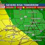 Mike Linden's Forecast | Severe threat rolls into Sunday