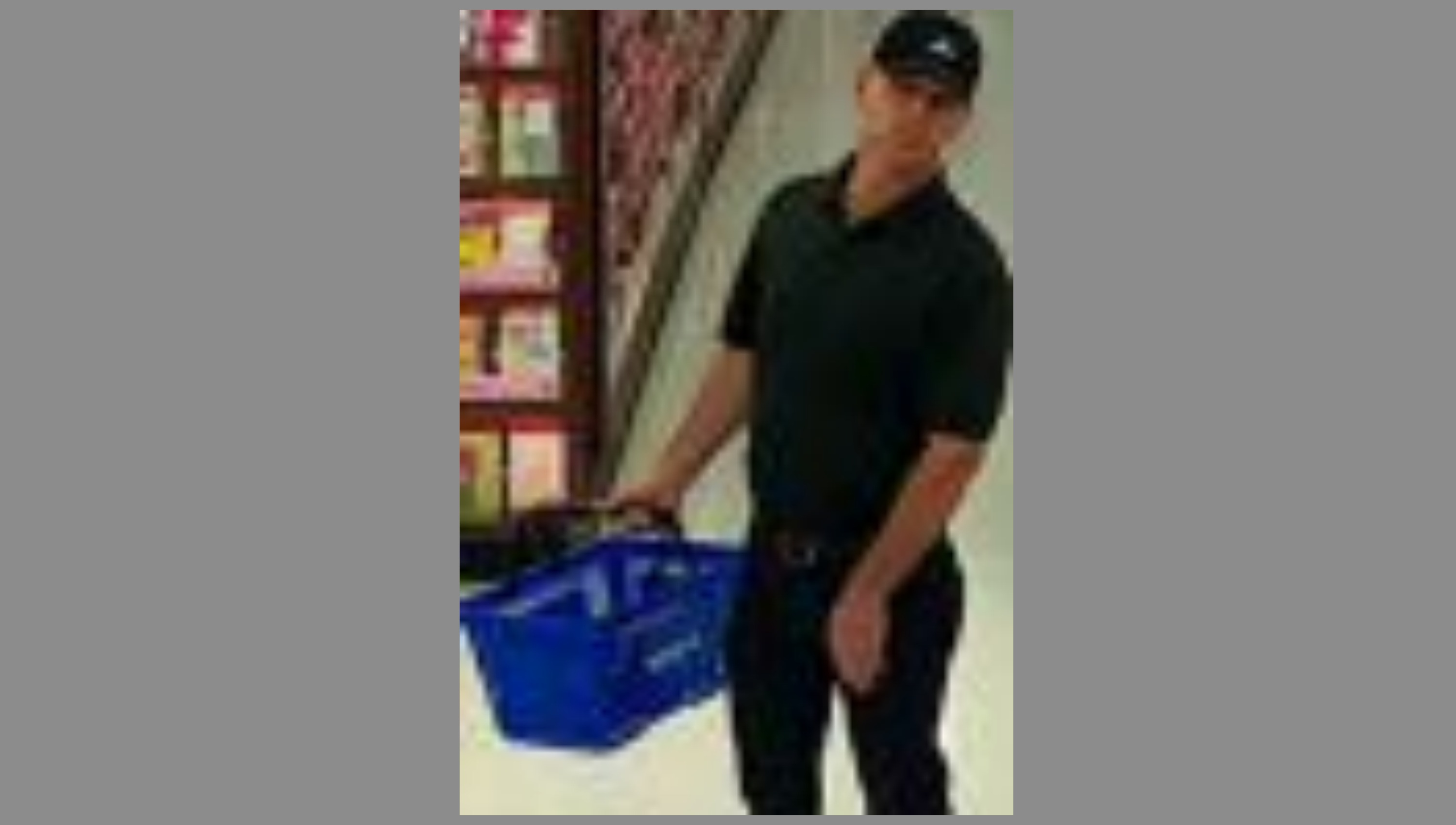 "Photo of man man wanted for allegedly filming ""upskirt"" video of woman, daughter on May 14 in Walmart in Fairfax County, Va.  Friday, May 19, 2017 (Fairfax County Police)"