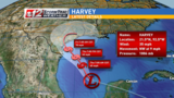 Harvey reforms in the Gulf as a Tropical Depression