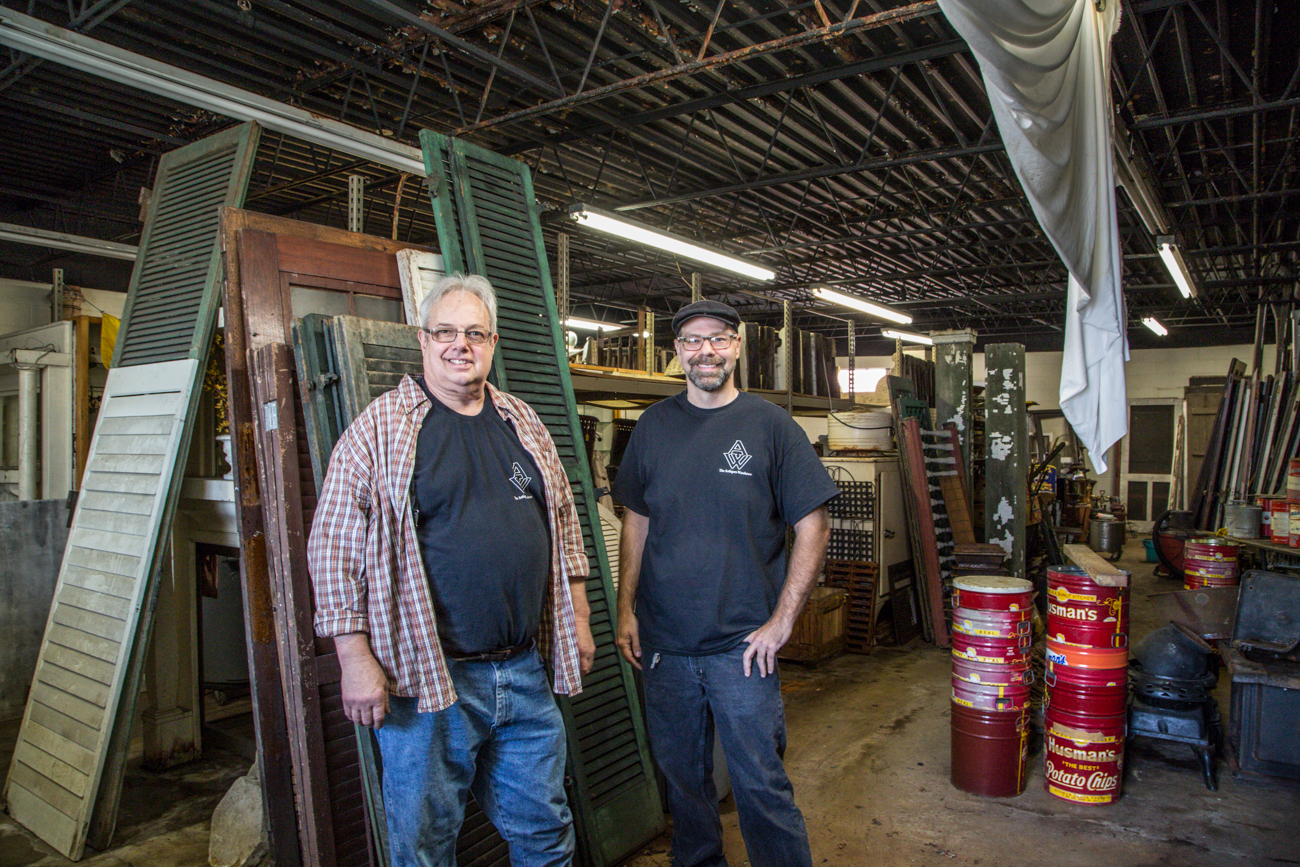 Gary Neltner (owner) and Al Ehrman (full-time employee) / Image: Catherine Viox // Published: 6.5.17
