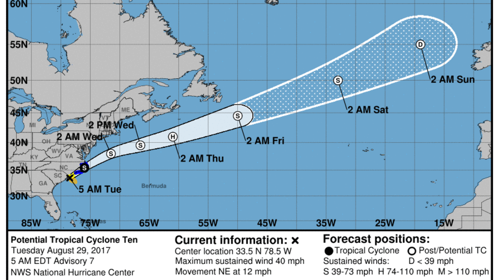Storm Team 10: High surf, wind advisories for Southern New England