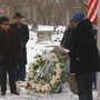 Crowd celebrates life of Paul Laurence Dunbar with wreath-laying ceremony
