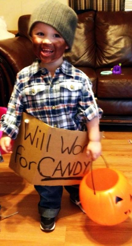 Happy Halloween from a cute little HoBo!
