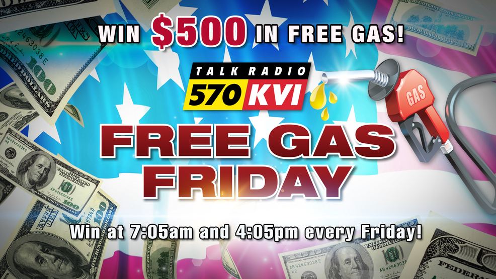 570 KVI introduces 'FREE Gas Fridays', starting on May 24th!
