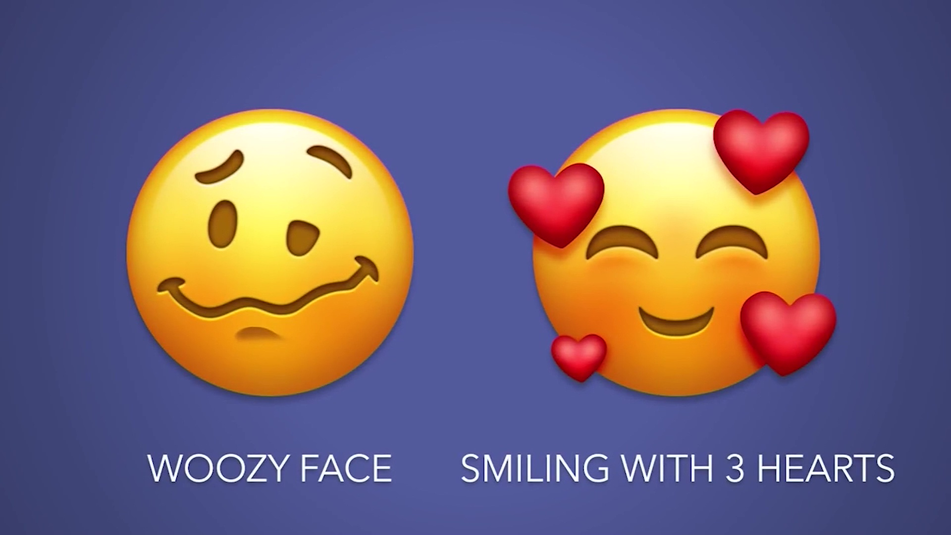 A look at some of the new emoji to be released in the fall. (CNN)