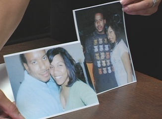 Pictures of Buie and Brown, who Brown says have been in a romantic relationship