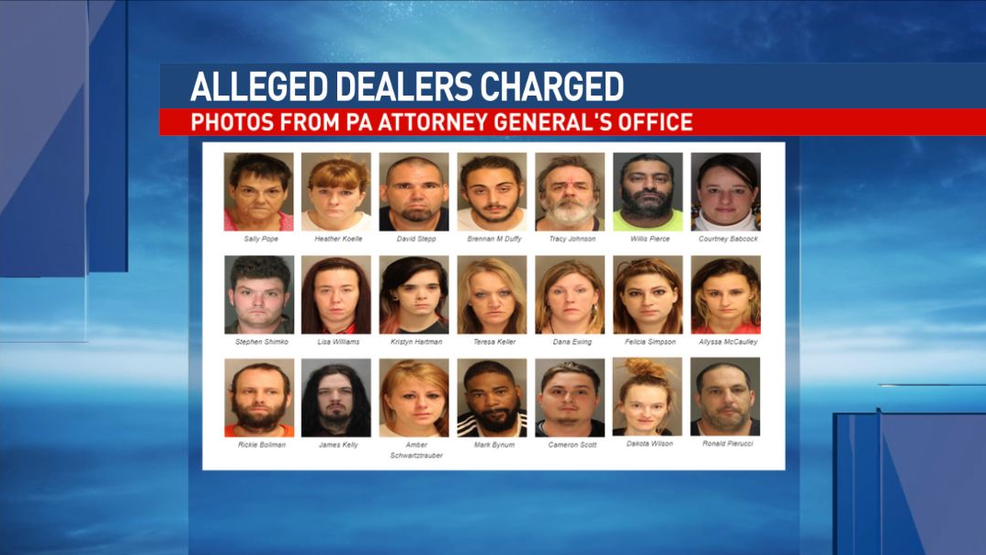 31 suspected drug dealers charged in Blair County bust | WHP