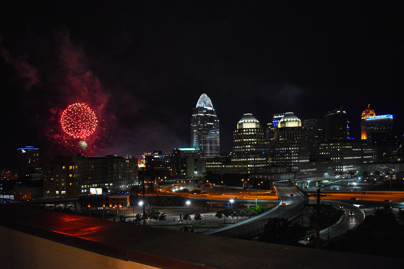 Imagine having a front-row seat to fireworks from your own home. / Image: Kathy Kelley // Published: 7.11.19