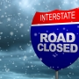 I-80 closed west of Lincoln