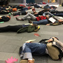 Homeless activists stage camp-out, 'die-in' at Seattle City Hall