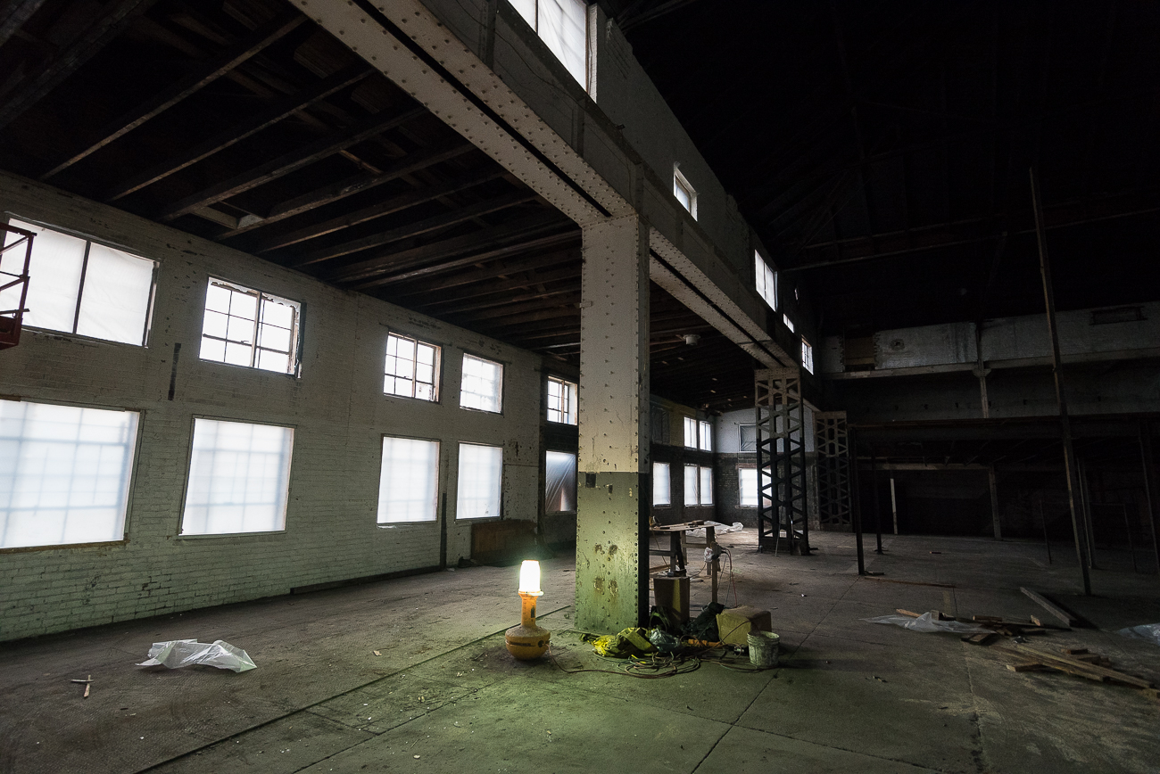 A third administration building, also a historic building built in the same era as the barrelhouse, is currently being renovated. It will house operations such as sales and marketing once finished. / Image: Phil Armstrong, Cincinnati Refined // Published: 12.4.17