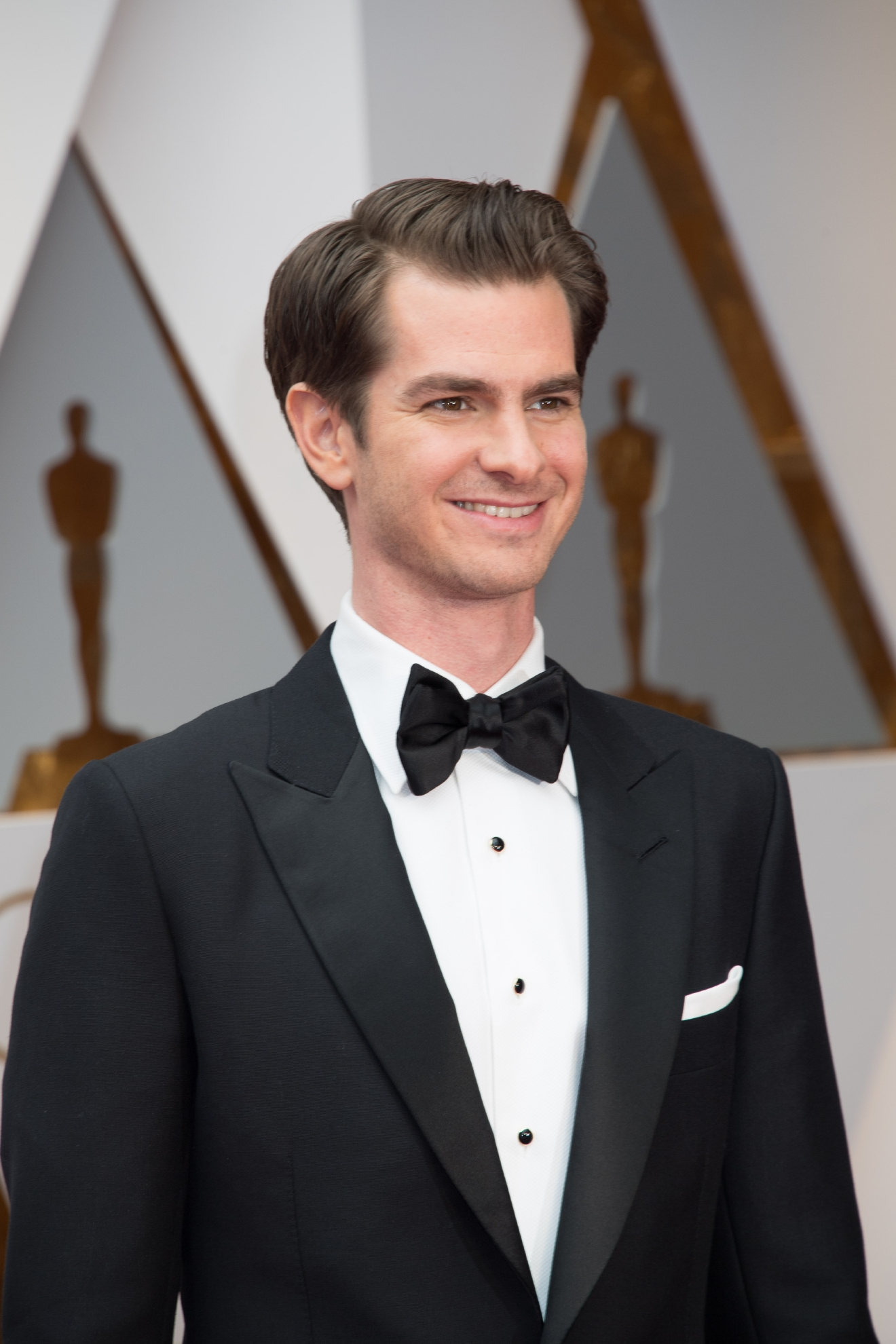 #14: Andrew Garfield. Is it possible to give a high ranking just for a smile? Because we're doing it. (Image: AMPAS)
