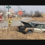 Two-car crash sends one to the hospital
