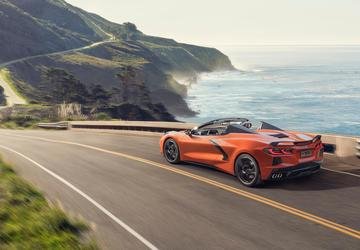 2020 Chevy Corvette Convertible full of firsts
