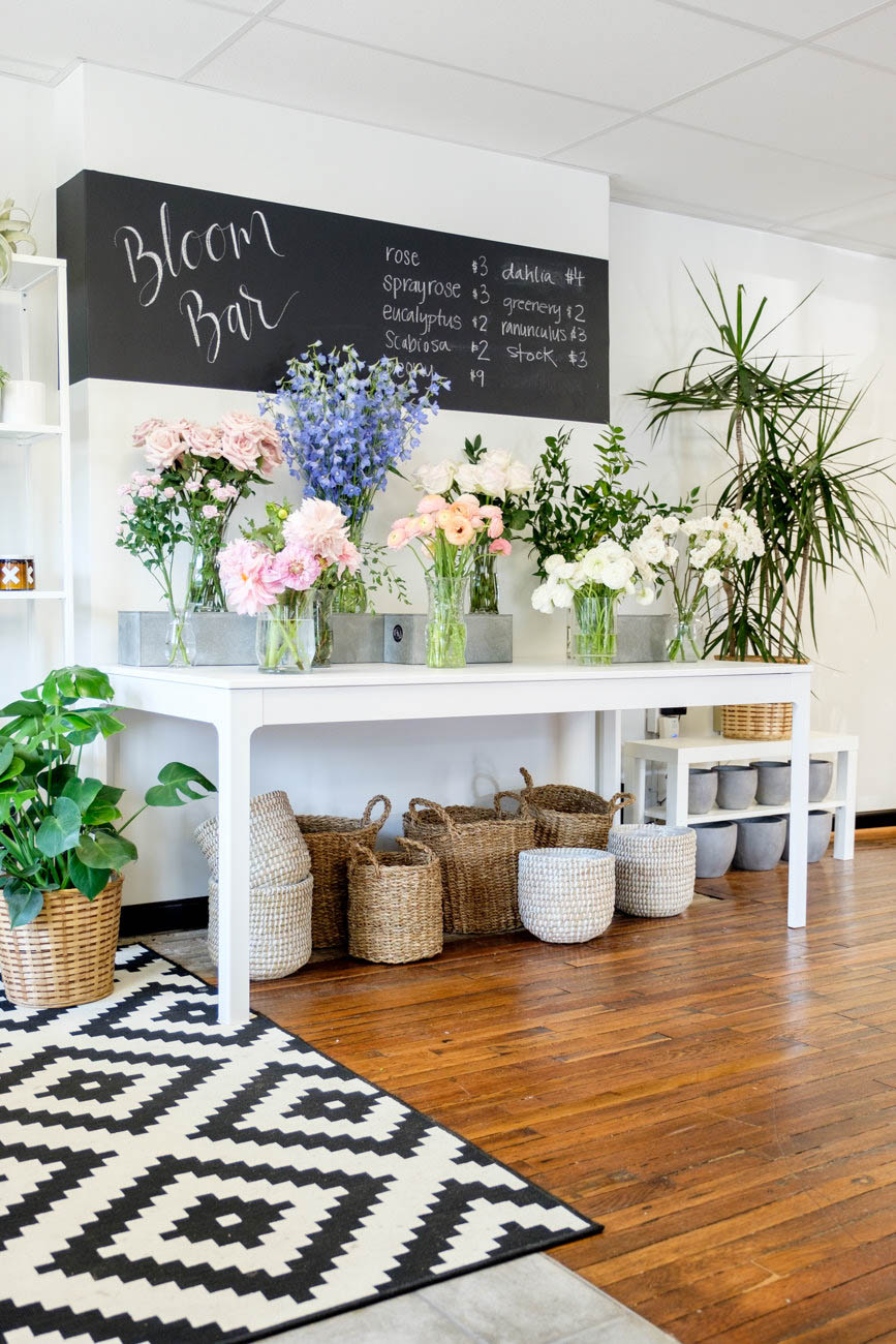 Feeling floral? Surprise your friend with a bouquet! 'Tis the season, after all. Katie's Blooms (pictured) in Newtown is a great florist that has a bloom bar open during shop hours where you can assemble your own bouquet by the stem. Blush and Bubbly in Oakley is a clothing boutique that offers a flower bar to pick out and create bouquets, as well. / Image: Daniel Smyth // Published: 2.8.20