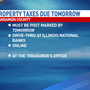 Sangamon County property taxes due Friday
