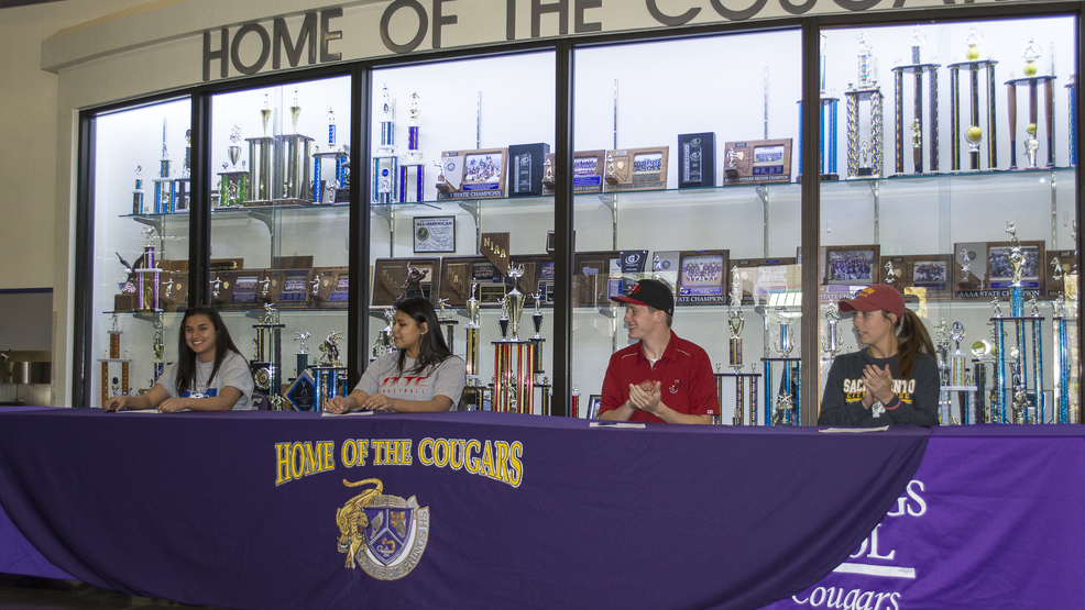4 Spanish Springs High School Athletes Make College