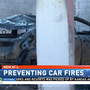 Firefighters see increase in car fires as temperatures rise