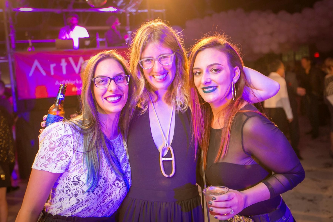 Becca Birckhead, Biz Young and Liazie Bee / Image: Mike Bresnen Photography