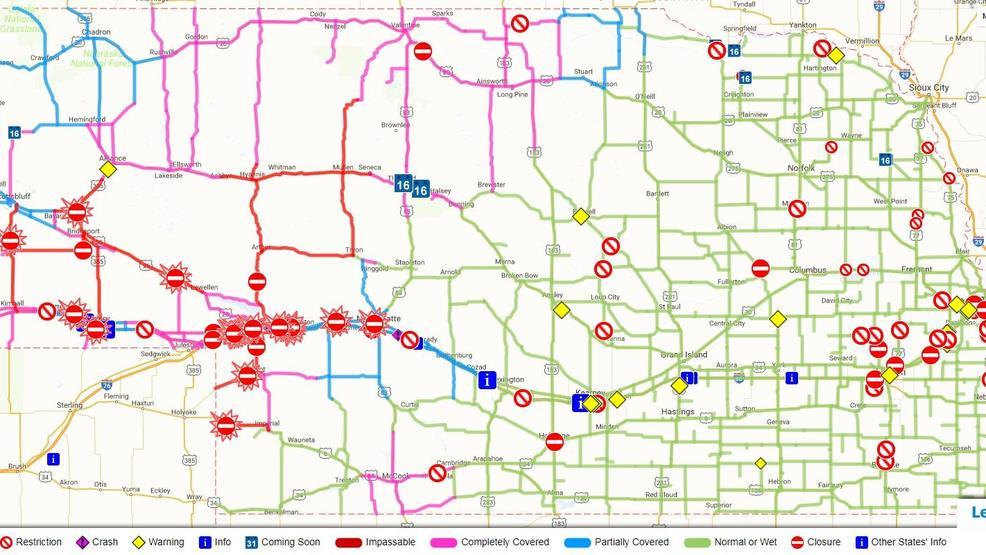 Map Of Highway 20 In Nebraska The Best Highway Of 2018