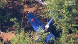 Crews extricate 2 men from small plane after crash near Hillsboro