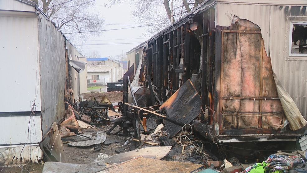 Three homes possible 'total losses' after fire at Midler Meadows Mobile Home Park