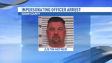 Edgar County man arrested for impersonating officer