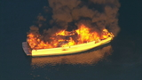 One person safe after massive boat fire off Whidbey Island