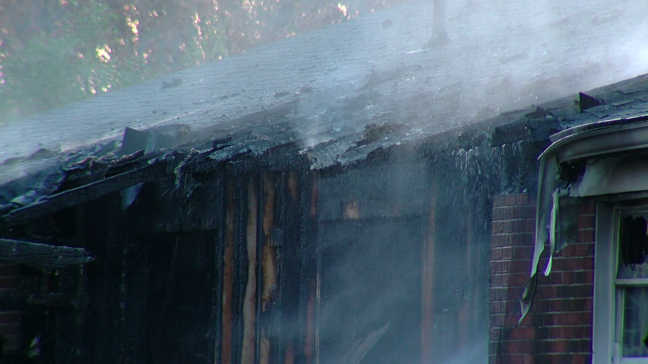 Six people were displaced after a fire at an apartment complex in North Bend on Sunday (WKRC)