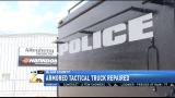 Allegheny Trucks honored for repairing tactical truck