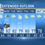 Weather: Showers, thunderstorm chances continue throughout Memorial Day Weekend