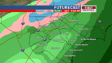 Cold, wet weather is here! Snow possible, but unlikely, Saturday morning west of I-95