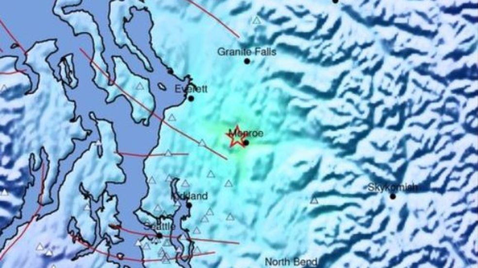 4 6 quake rattles Washington state's Puget Sound area
