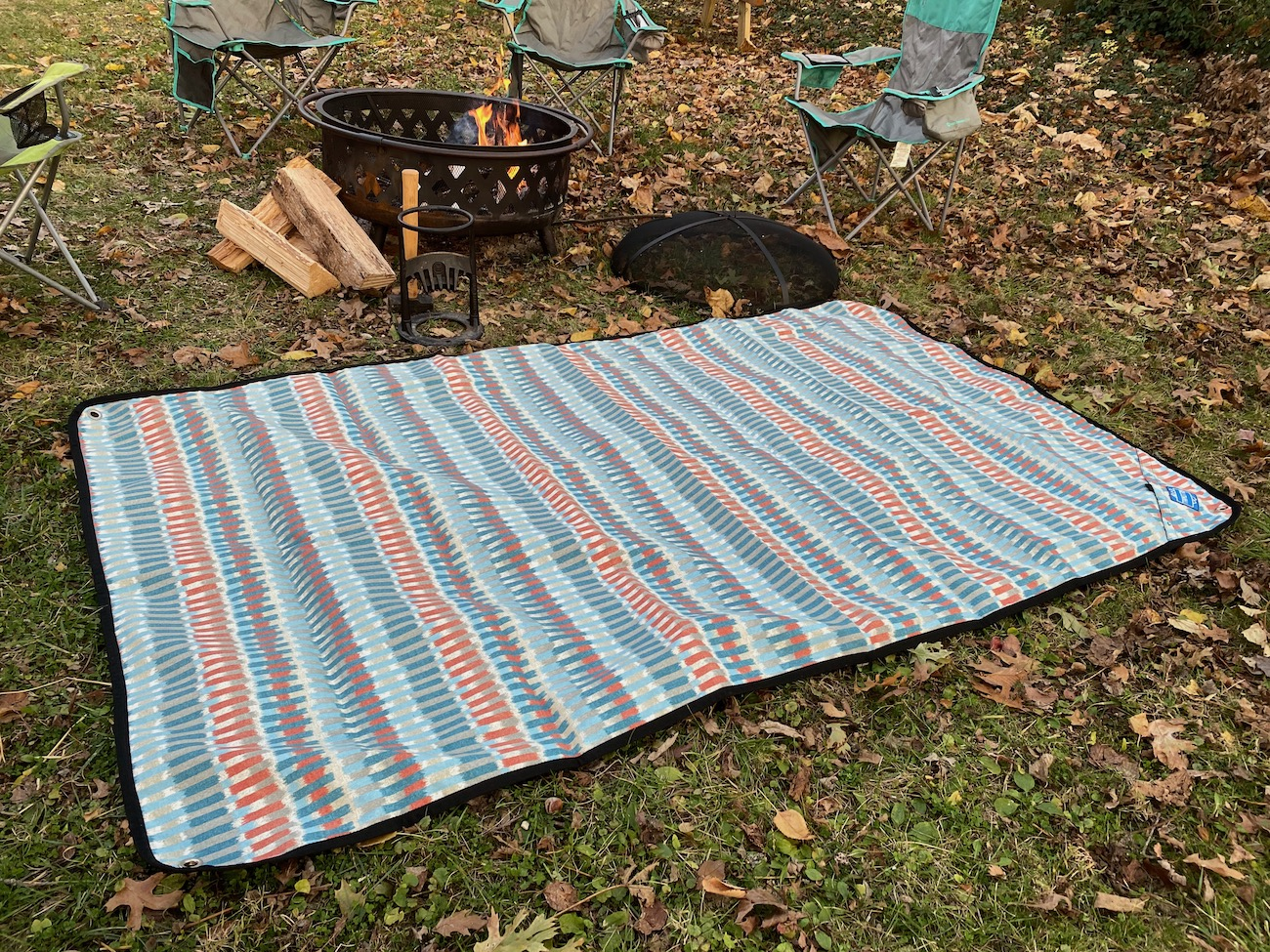 "Tarpestry is a super versatile, weather-resistant outdoor ground cover that's excellent for creating a comfy, waterproof surface for spending time in the backcountry or your backyard. /{&nbsp;}<a  href=""https://tarpestry.com/"" target=""_blank"" title=""https://tarpestry.com/"">Website{&nbsp;}</a>/ Price: $149-192 / Image: Chez Chesak // Published: 12.6.20"