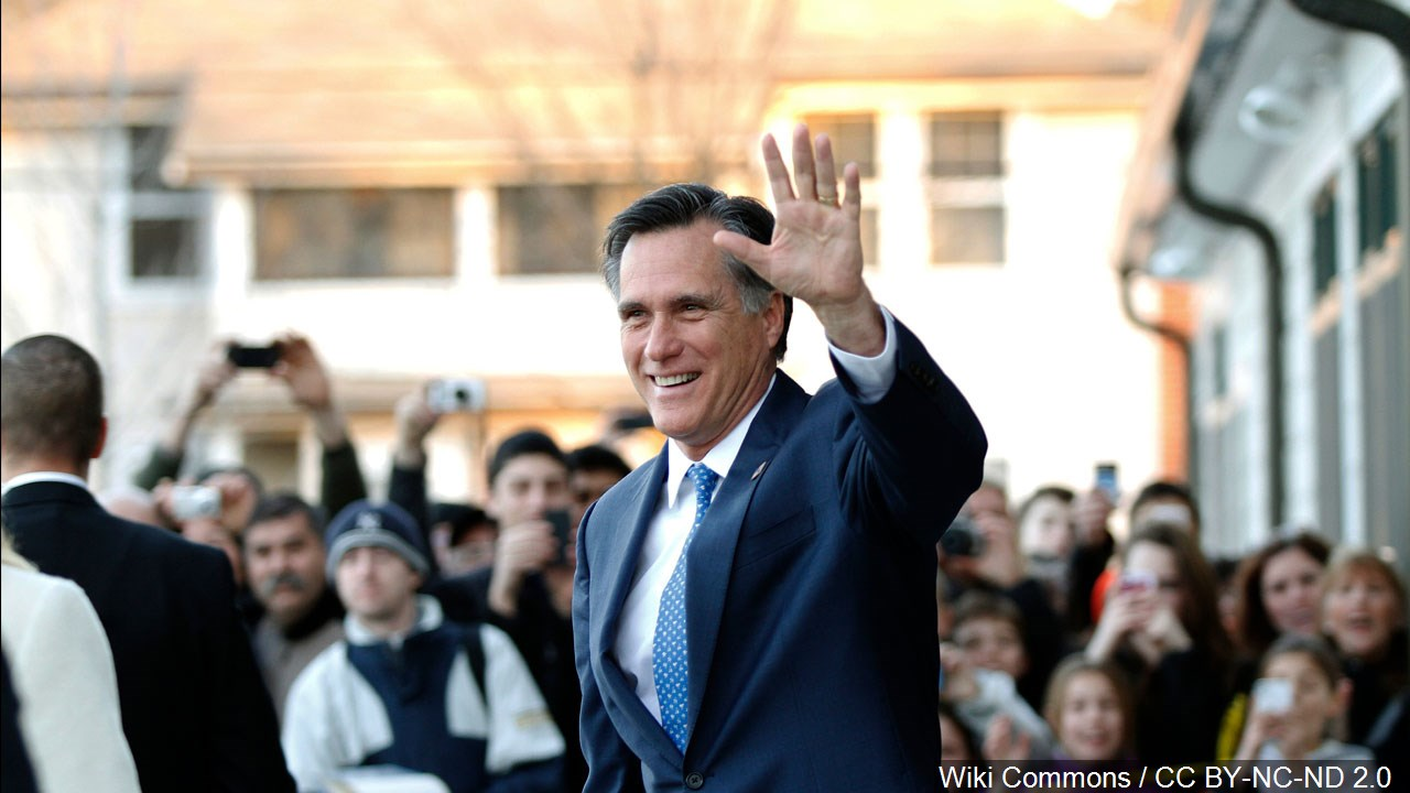 Opportunity in Utah: Mitt Romney eyes political resurgence, disliked by Trump supporters (Photo: KUTV)