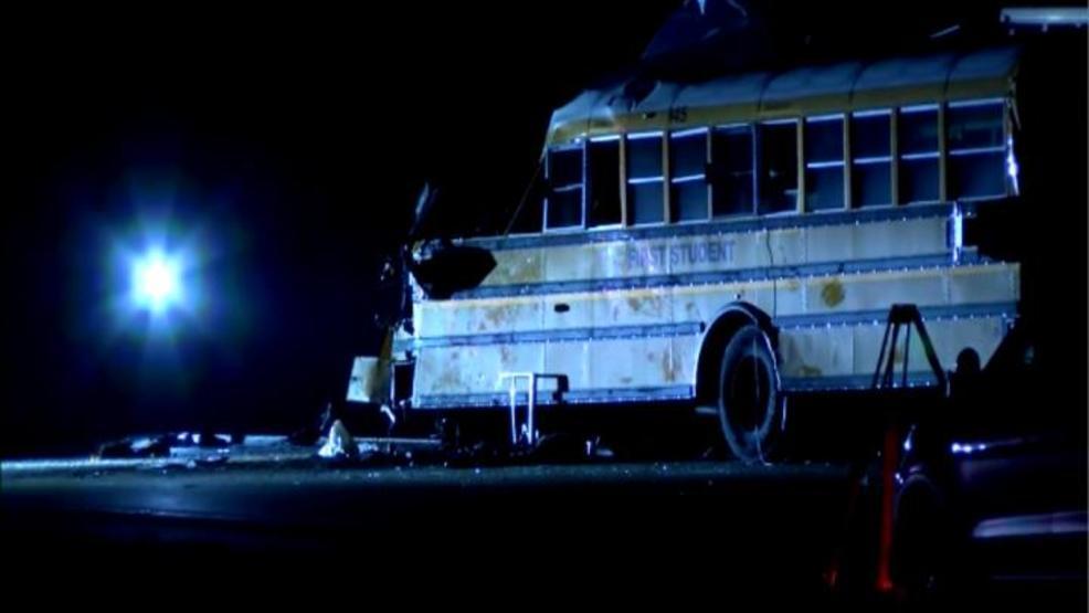 School bus driver ID'd in school bus crash on I-74   WICS