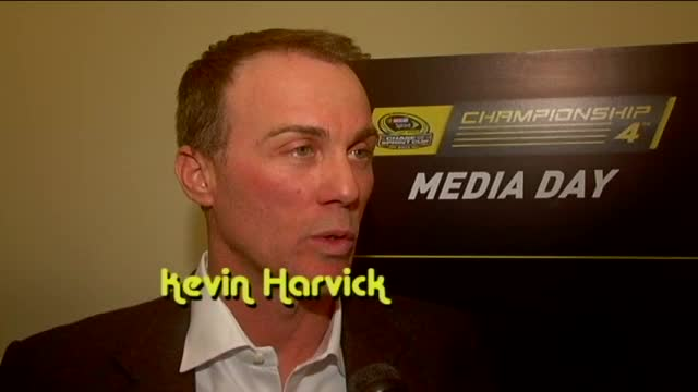 Talking with NASCAR's Final Four